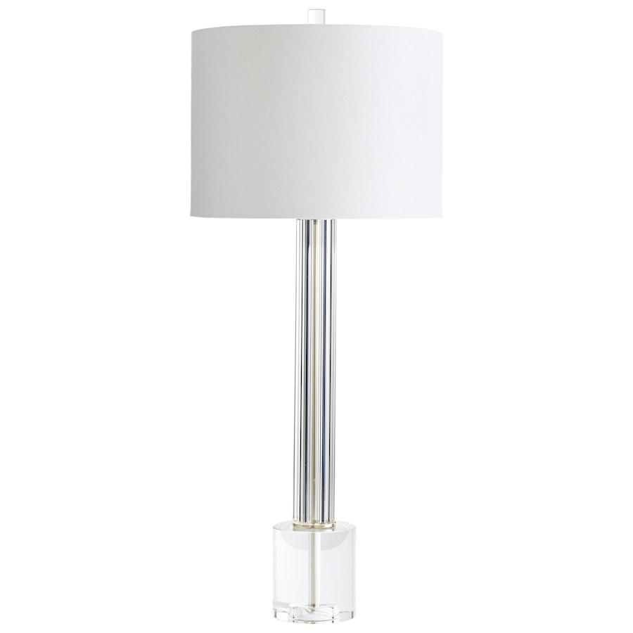 Cyan Design Quantom Table Lamp, Clear