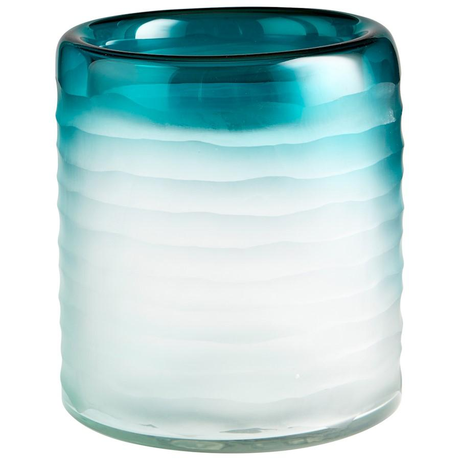 Cyan Design Thelonious Vase, Blue