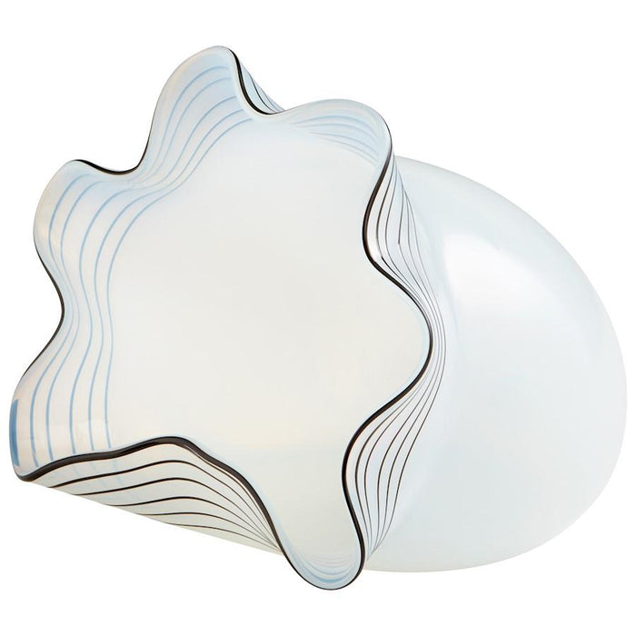 Cyan Design Moon Jelly Vase, White