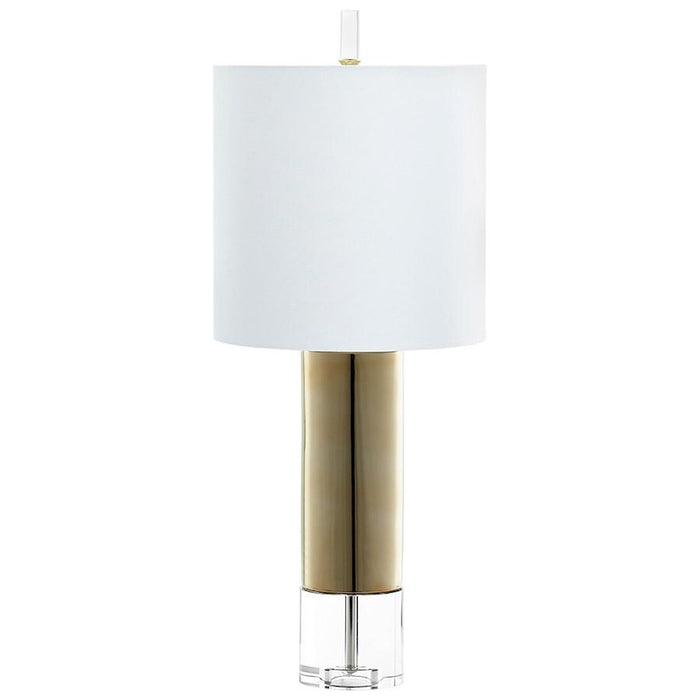 Cyan Design 1 Light Sonora Table Lamp, Gold
