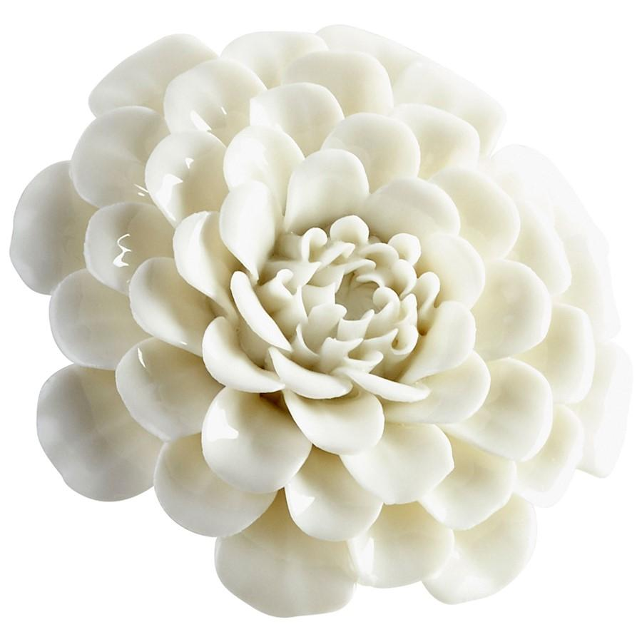 Cyan Design Flourishing Flowers Wall Decor, Off White