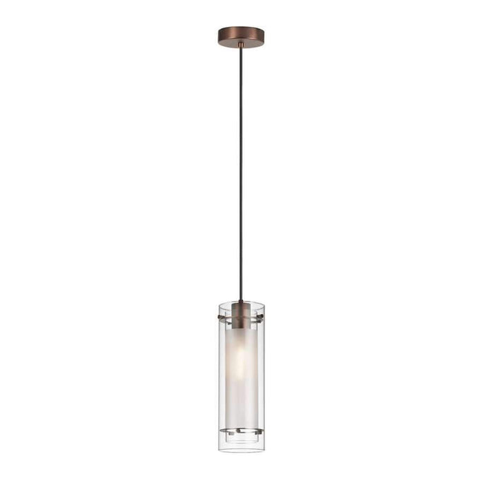 Dainolite 1 Light Pendant with Fabric Sleeve