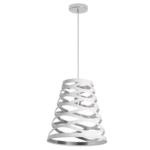 Dainolite 1 Light Cut Out Pendant, 14""