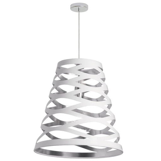 Dainolite 1 Light Cut Out Pendant, 22""