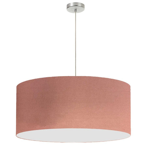 Dainolite 1 Light Drum Shade Pendant, 28""