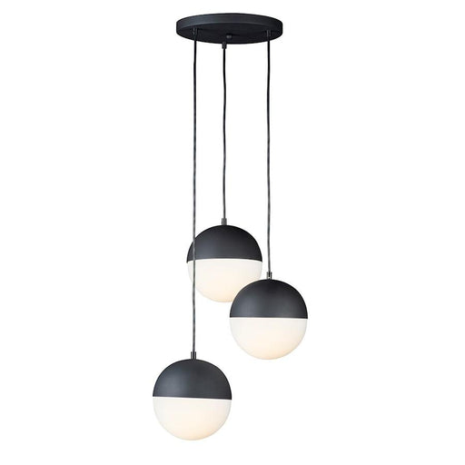 ET2 Lighting Half Moon LED 3-Light Small Pendant