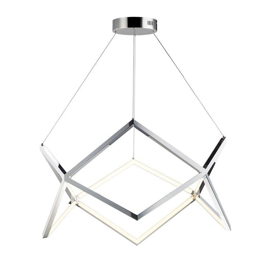 ET2 Lighting Victory LED Pendant, Polished Chrome