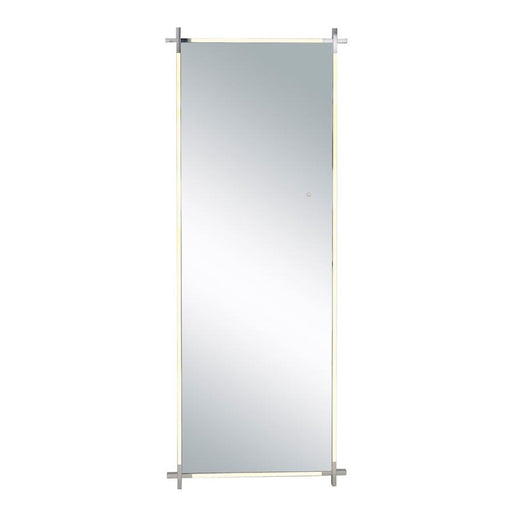 ET2 Lighting LED Mirror, Polished Chrome