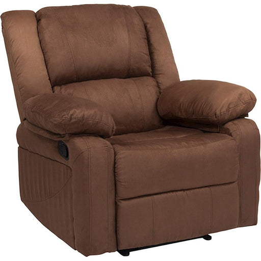 Flash Furniture Harmony Chocolate Brown MF Recliner