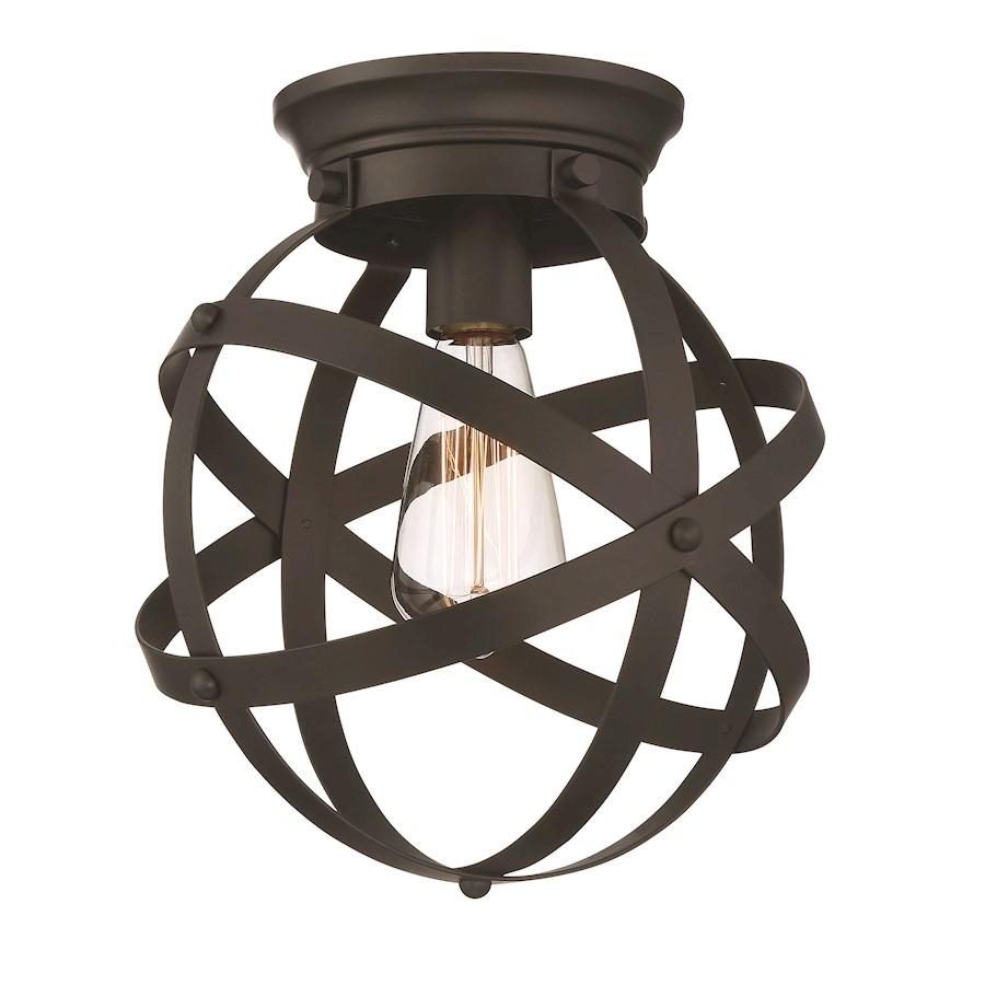 Designers Fountain Eli Flushmount, Oil Rubbed Bronze