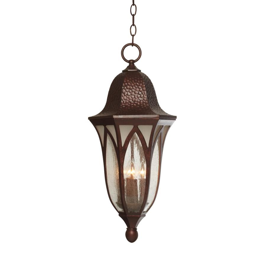 "Designers Fountain Berkshire 11"" Hanging Lantern, Antique Copper"