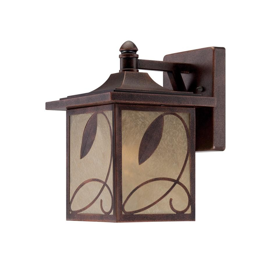 Designers Fountain Devonwood Wall Lantern, Flemish Copper