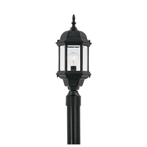 Designers Fountain Devonshire Post Lantern, Black