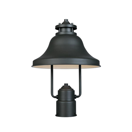 "Designers Fountain Bayport 11"" Post Lantern Dark Sky, Bronze"