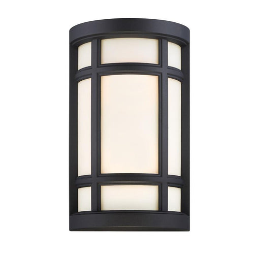 Designers Fountain Logan Square Wall Sconce, Black