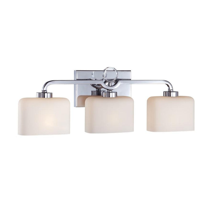Designers Fountain Venetian Bath Lighting, Chrome