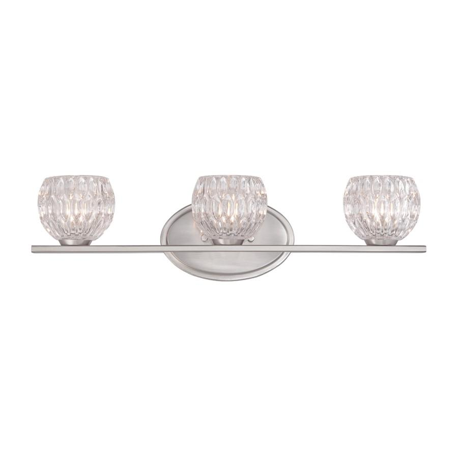 Designers Fountain Odessa Bathroom Lighting, Satin Platinum