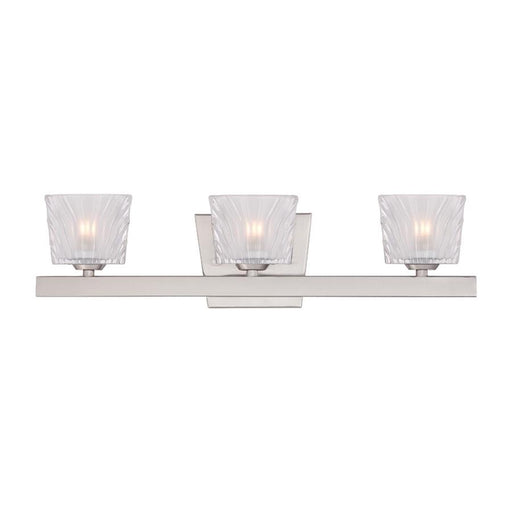 Designers Fountain Volare Bathroom Lighting, Satin Platinum