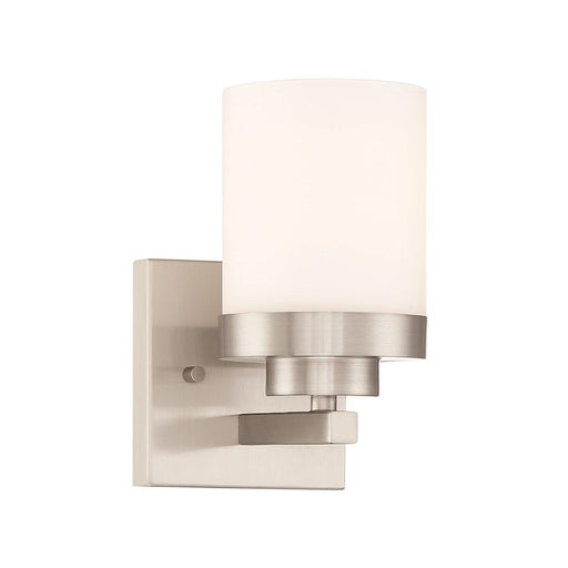 Designers Fountain Kaden Wall Sconce in Satin Platinum