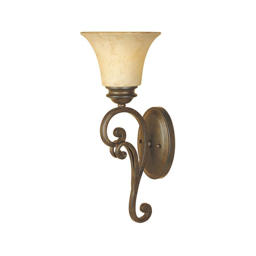 Designers Fountain Mendocino Wall Sconce, Forged Sienna