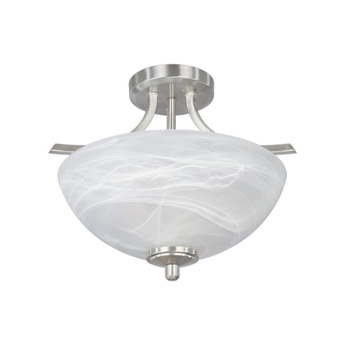 Designers Fountain Tackwood Semi Flush
