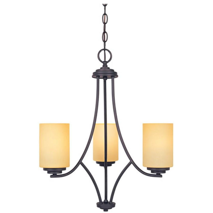 Designers Fountain Marbella Chandelier, Oil Rubbed Bronze