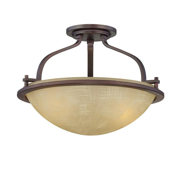 Designers Fountain Castello Semi Flush, Tuscana