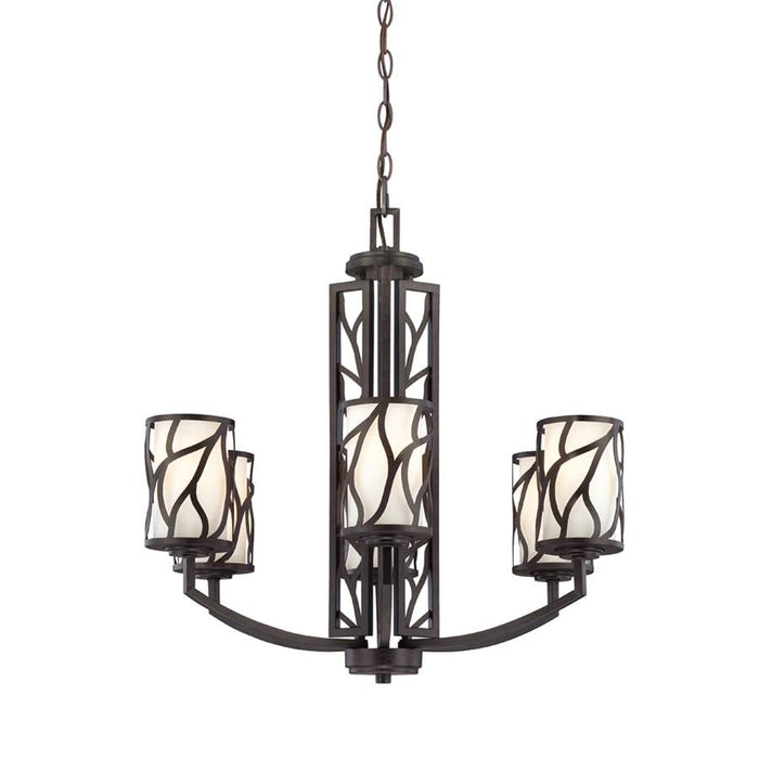 Designers Fountain Modesto 6 Light Chandelier, Artisan