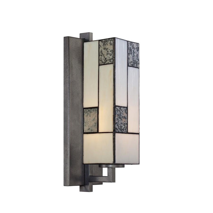 Designers Fountain Bradley Wall Sconce, Charcoal