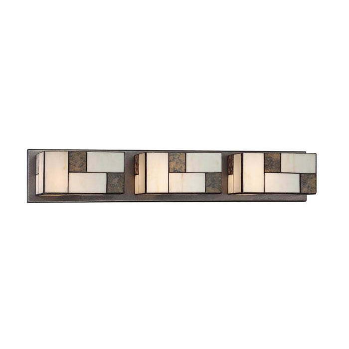 Designers Fountain Bradley Bathroom Vanity Lighting, Charcoal
