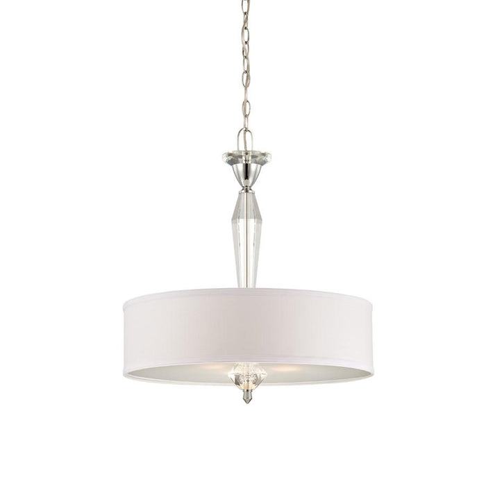 Designers Fountain Palatial Pendant, Chrome