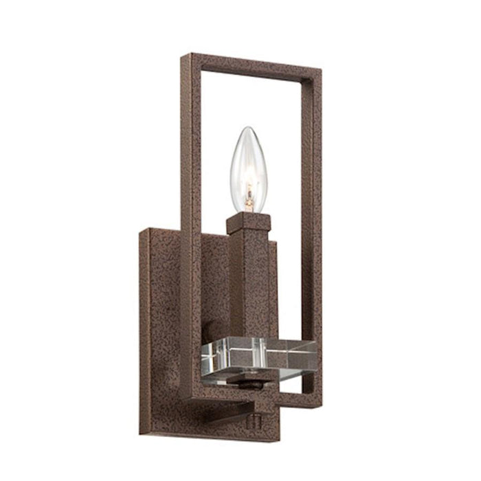 Designers Fountain Fieldhouse Wall Sconce, Flemish Bronze