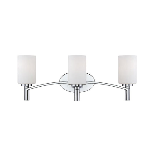 Designers Fountain Cordova Bathroom Vanity Lighting, Chrome