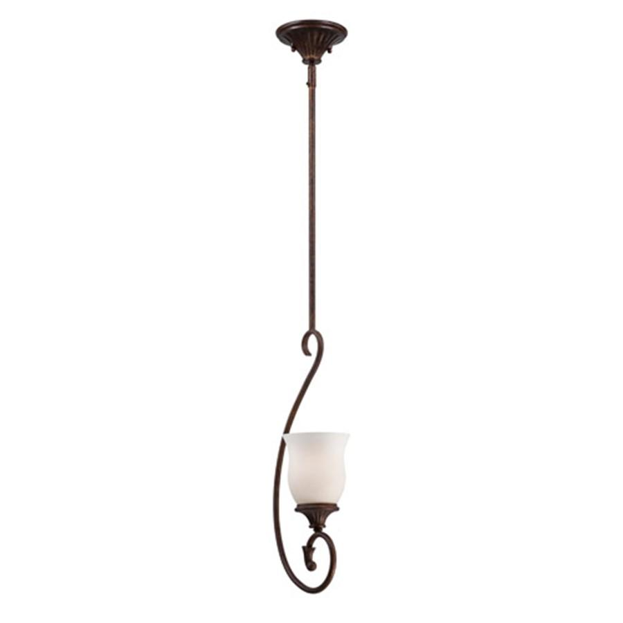 Designers Fountain Helena Mini Pendant, Burnt Umber