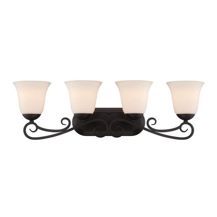 Designers Fountain Addison Bathroom Vanity Lighting, Oil Rubbed Bronze