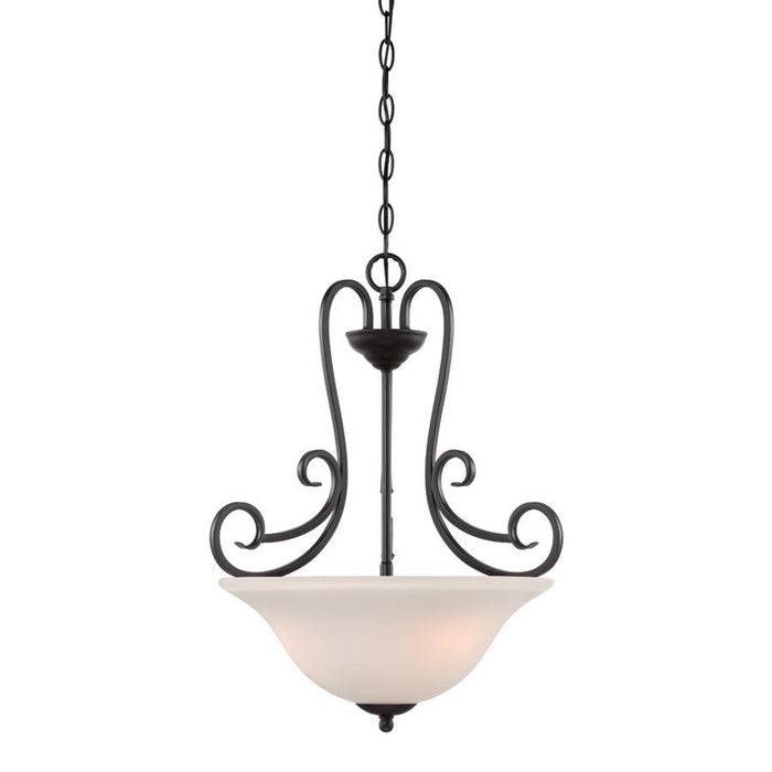 Designers Fountain Addison Inverted Pendant, Oil Rubbed Bronze