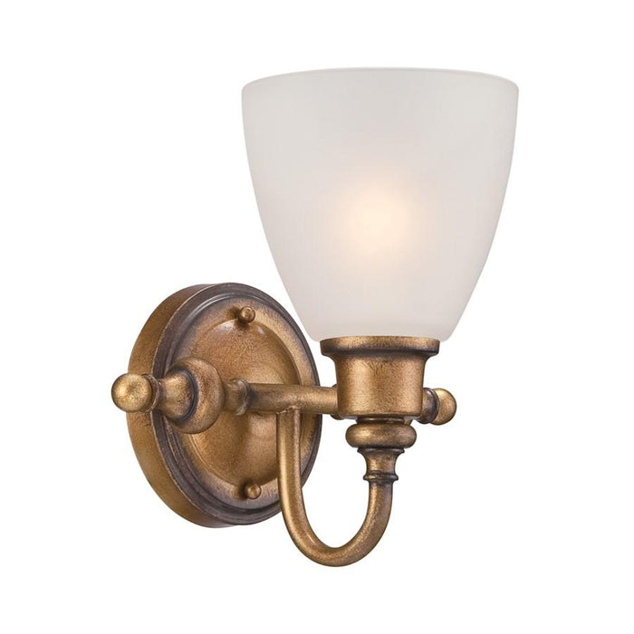 Designers Fountain Isla Wall Sconce, Aged Brass