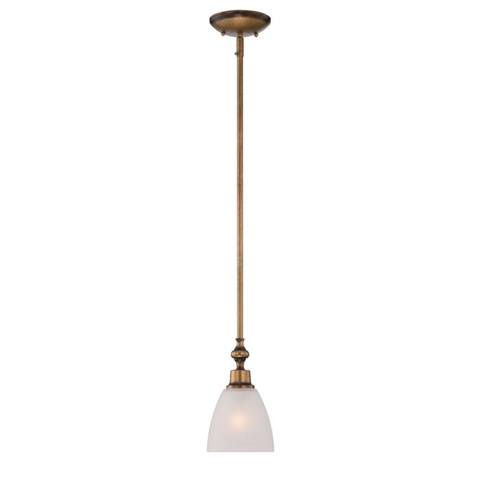 Designers Fountain Isla Mini Pendant, Aged Brass