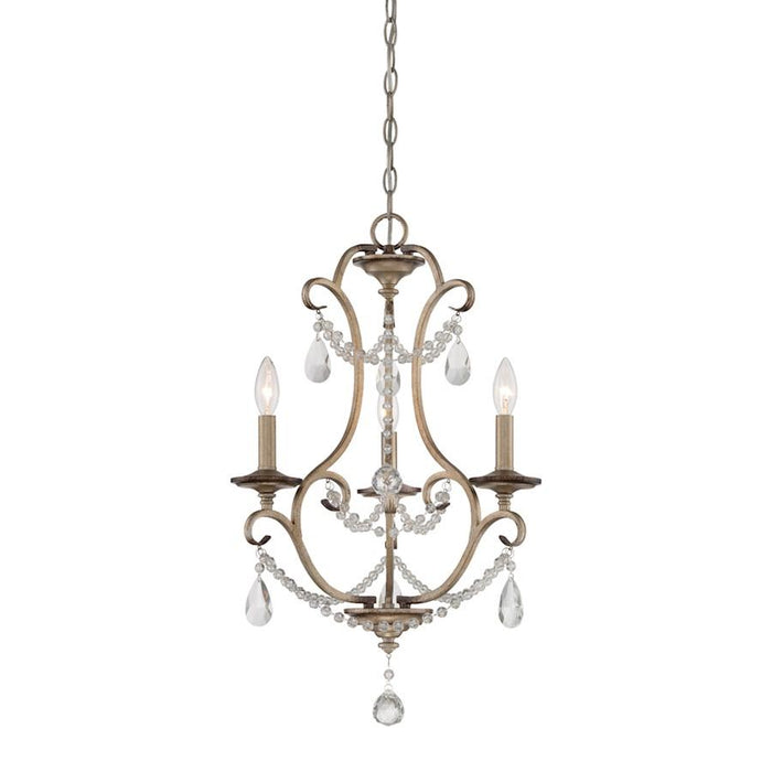Designers Fountain Gala Chandelier, Argent Silver