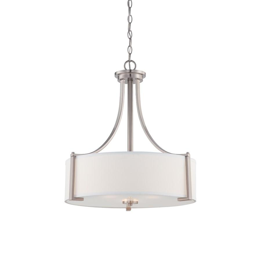 Designers Fountain Axel Pendant, Satin Platinum
