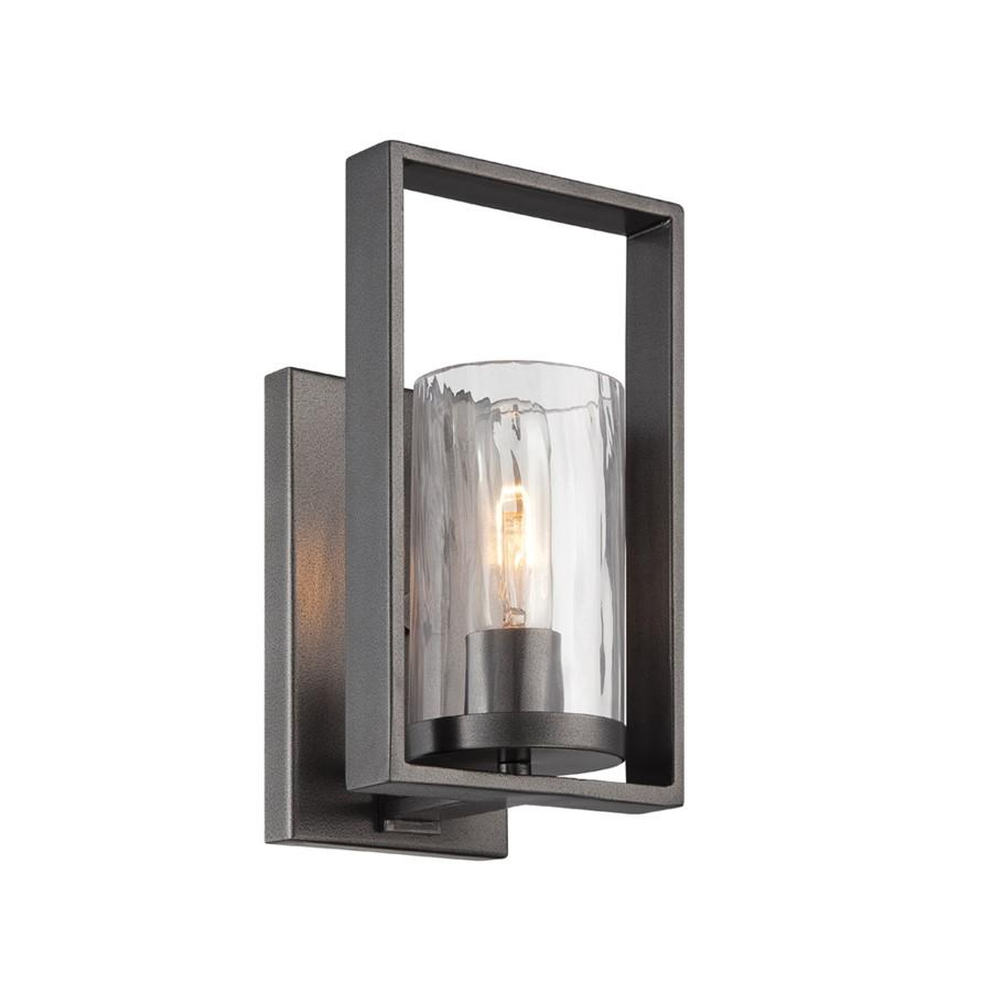 Designers Fountain Elements Wall Sconce, Charcoal