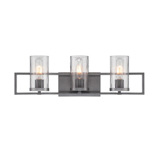 Designers Fountain Elements Bathroom Vanity Lighting, Charcoal
