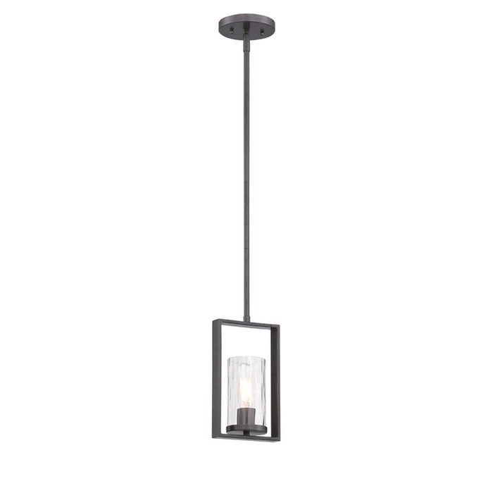 Designers Fountain Elements Mini Pendant, Charcoal