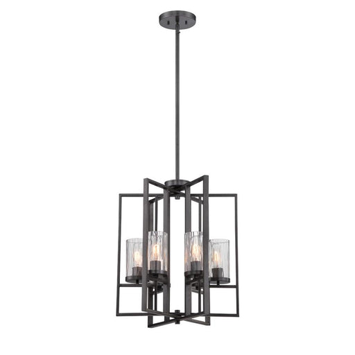 Designers Fountain Elements 4 Light Foyer, Charcoal