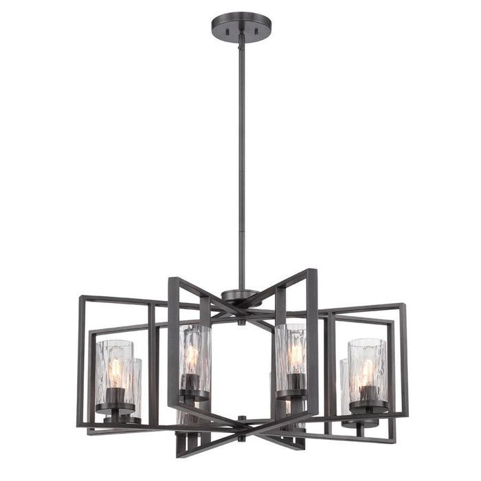 Designers Fountain Elements Chandelier, Charcoal