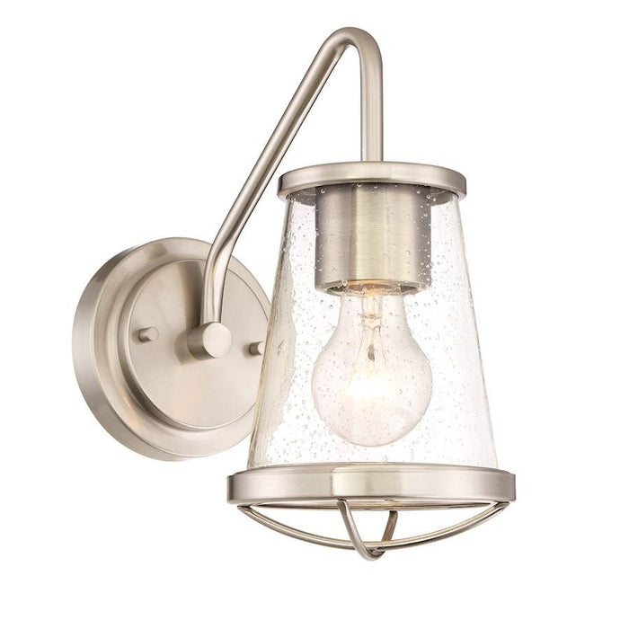 Designers Fountain Darby Wall Sconce in Satin Platinum