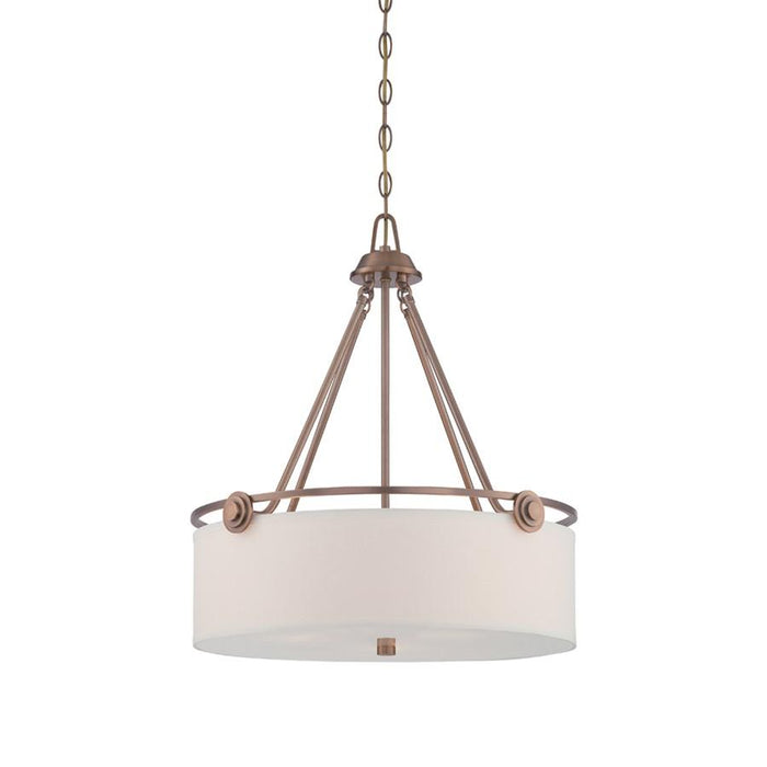 Designers Fountain Gramercy Park Pendant, Old Satin Brass