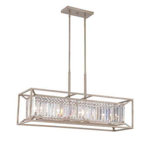 Designers Fountain Linares 4 Light Linear Chandelier