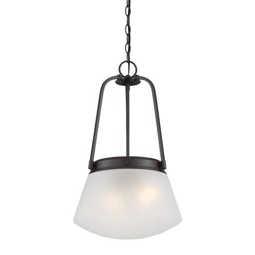 Designers Fountain Mason Inverted Pendant, Satin Bronze