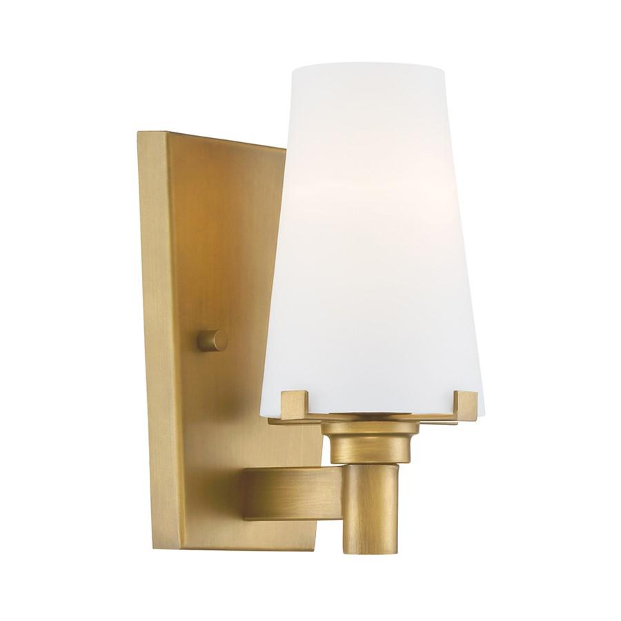 Designers Fountain Hyde Park Wall Sconce, Vintage Gold